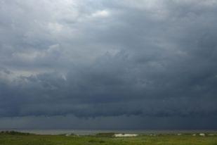 Gewitter im Anmarsch (Foto: Tore J. Mayland-Quellhorst).