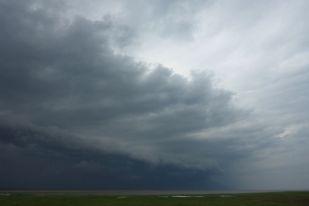 Wieder einmal ein Gewitter (Foto: Tore J. Mayland-Quellhorst).
