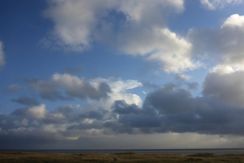Heiter bis wolkig: Haufenwolken oder Cumulus (Foto: Tore J. Mayland-Quellhorst).