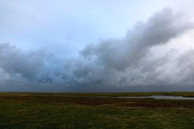 Wolkenstimmung auf Trischen (Foto: Jonas Kotlarz)