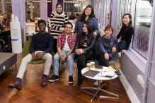 With my fellow international student ambassadors