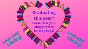 Graduation heart picture