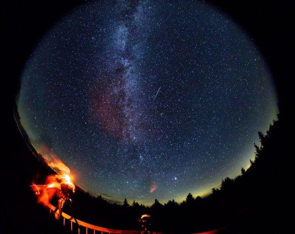 Perseid Meteor image