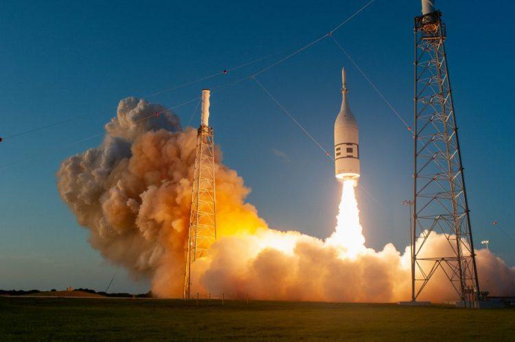 Ascent Abort-2 NASA Orion Capsule Artemis
