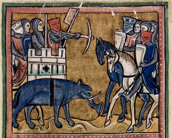 Medieval Elephants And Middle Earth Oliphaunts Studies Meet