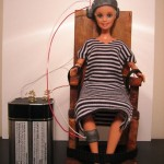 Barbie's electric chair