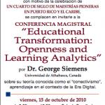 George Siemens en Puerto Rico