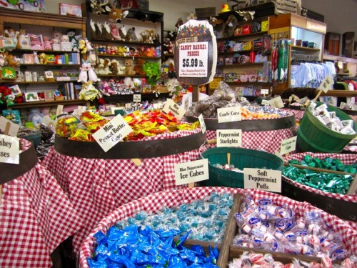 Asheville's version of Honeydukes: the Mast General Store. On top of selling 500 varieties of old-fashioned candy, it offers outdoor gear, local music and books, old-time home goods, and old-fashioned toys. A magical place indeed!