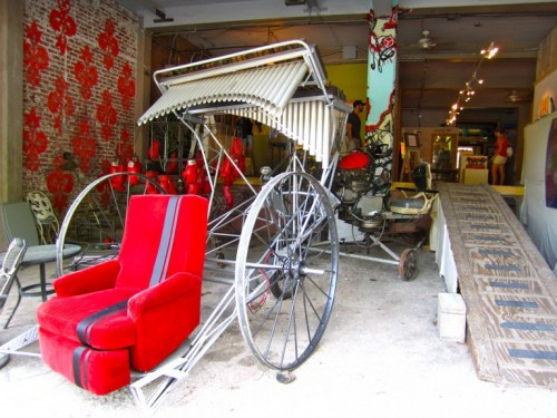 Armchair rickshaw?