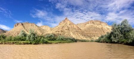 The White River in Utah