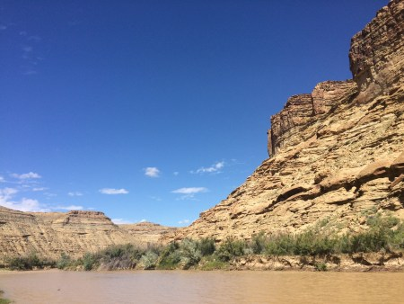 The White River was my favorite site due to the interesting and beautiful geology