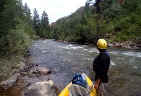 Many of the rivers sampled this summer were popular recreating sites, including the San Miguel River in Colorado