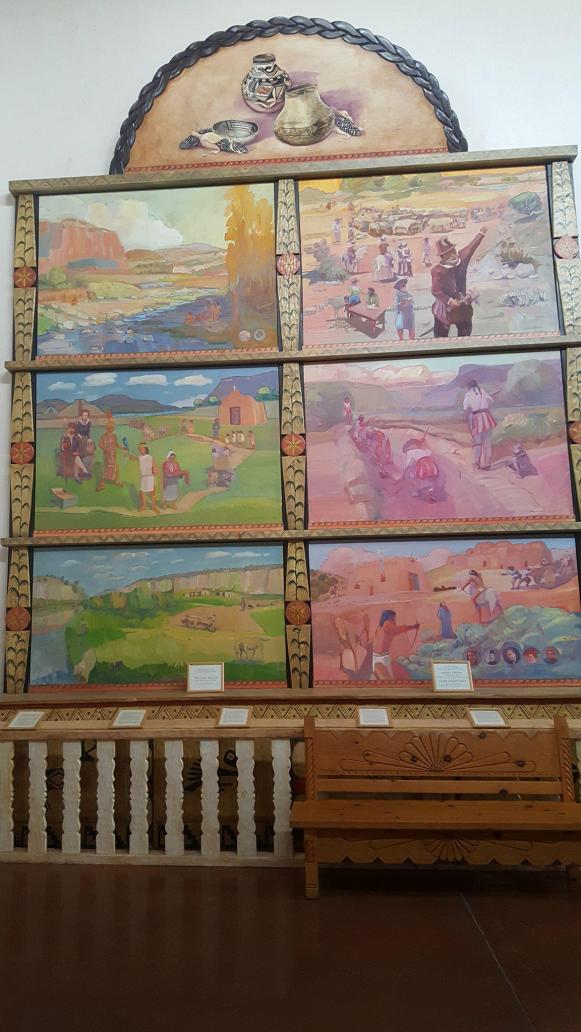 Paintings at the Convento