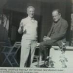 Auf eine Zigarette beim Meister Nachbar - Kandinsky und Klee