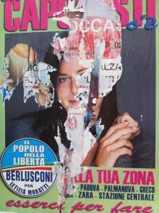 """Eine der vielen Mailänder """"Pro Berlusconi"""" - Kandidaten: Der Lack ist ab"""