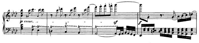 Tiefe Triller - Ausschnitt aus Beethovens 31. Sonate