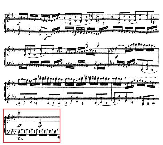 Beethoven op. 111 - 1. Satz - Takt 48