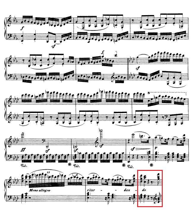 Beethoven op. 111 - 1. Satz - Takt 54