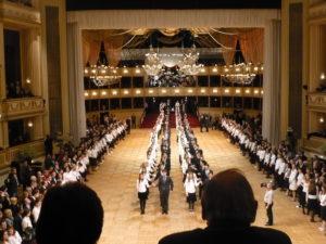 Probe zum Wiener Opernball, Foto: Moritz Eggert