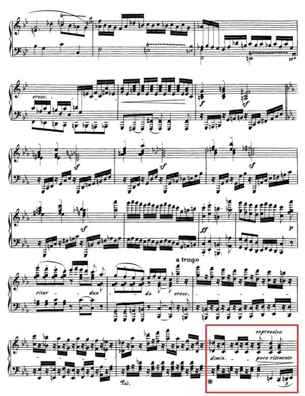 op. 111 – Eine Analyse in 335 Teilen – Takt 99