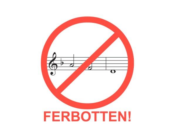 Musik-Verbot von AFD!