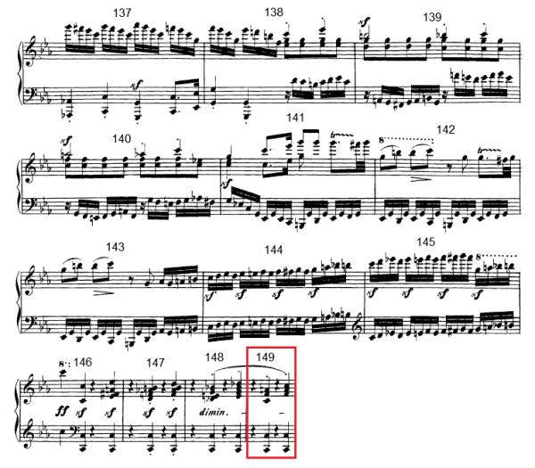 op. 111 – Eine Analyse in 335 Teilen – Takt 149
