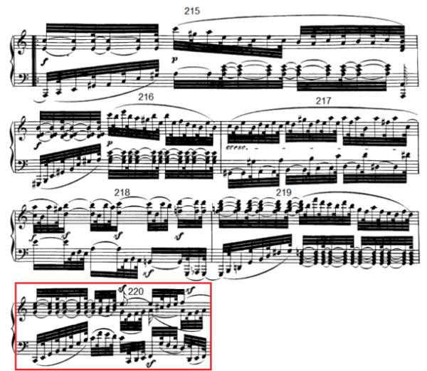op. 111 – Eine Analyse in 335 Teilen – Takt 220