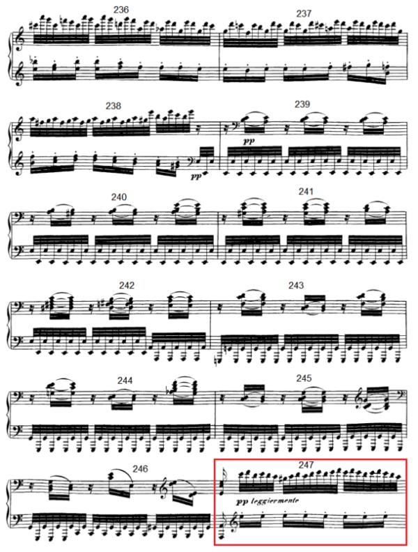 op. 111 – Eine Analyse in 335 Teilen – Takt 247