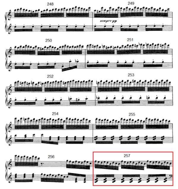 op. 111 – Eine Analyse in 335 Teilen – Takt 257