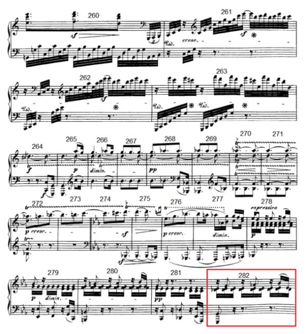 op. 111 – Eine Analyse in 335 Teilen – Takt 282