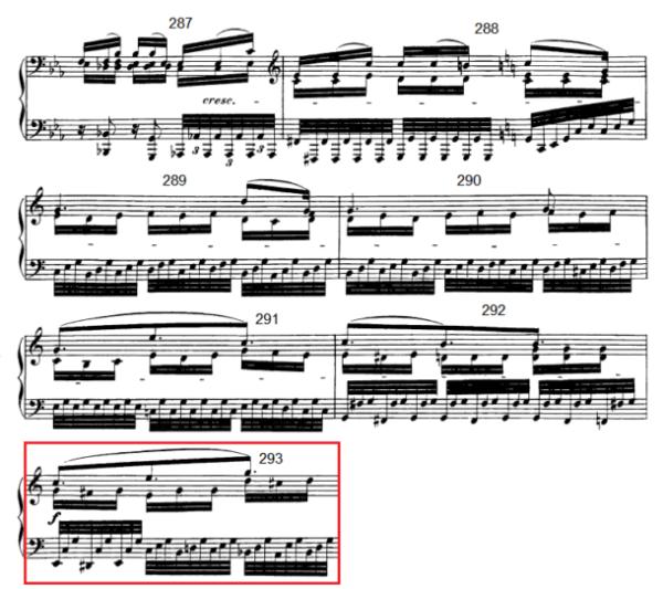 op. 111 – Eine Analyse in 335 Teilen – Takt 293