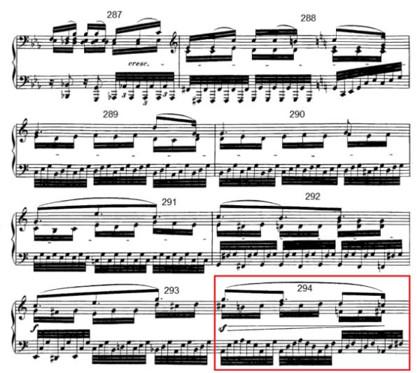 op. 111 – Eine Analyse in 335 Teilen – Takt 294