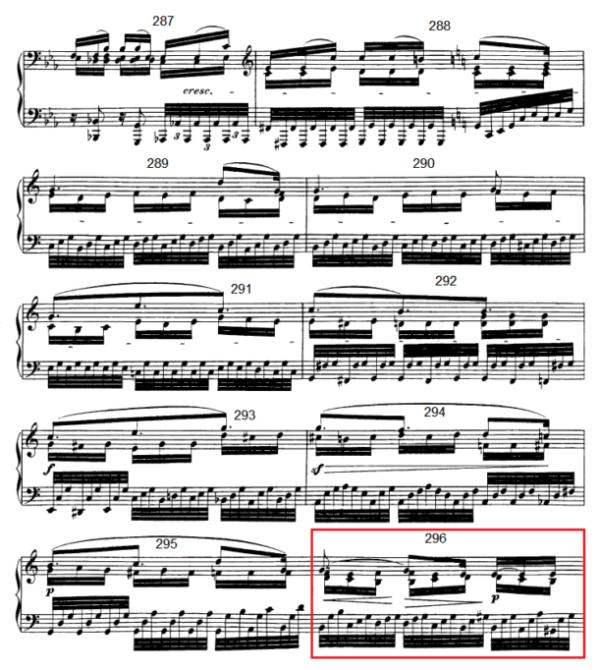 op. 111 – Eine Analyse in 335 Teilen – Takt 296