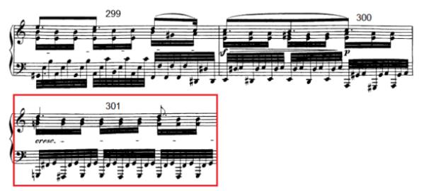 op. 111 – Eine Analyse in 335 Teilen – Takt 301