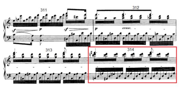 op. 111 – Eine Analyse in 335 Teilen – Takt 314