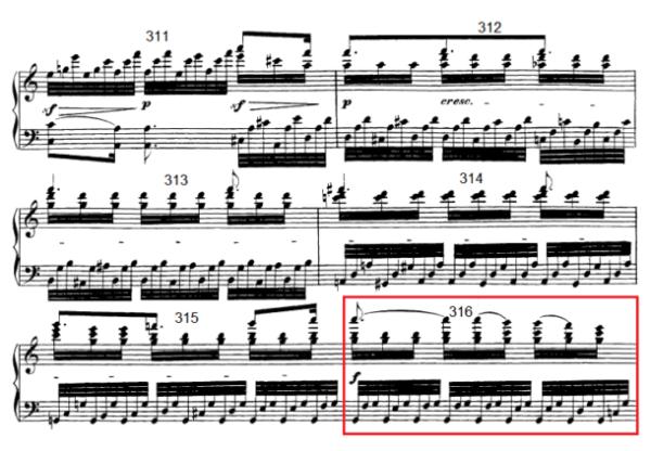 op. 111 – Eine Analyse in 335 Teilen – Takt 316