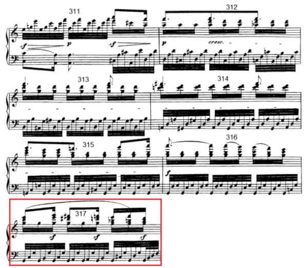 op. 111 – Eine Analyse in 335 Teilen – Takt 317
