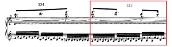 op. 111 – Eine Analyse in 335 Teilen – Takt 325
