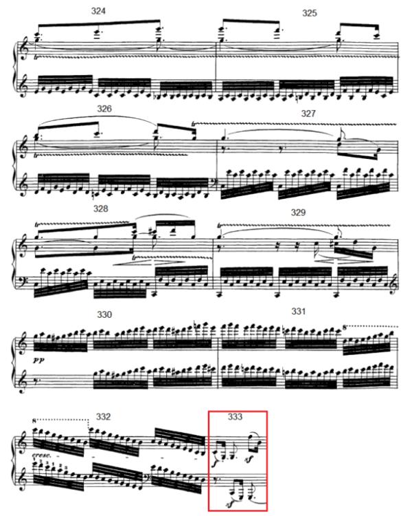 op. 111 – Eine Analyse in 335 Teilen – Takt 333