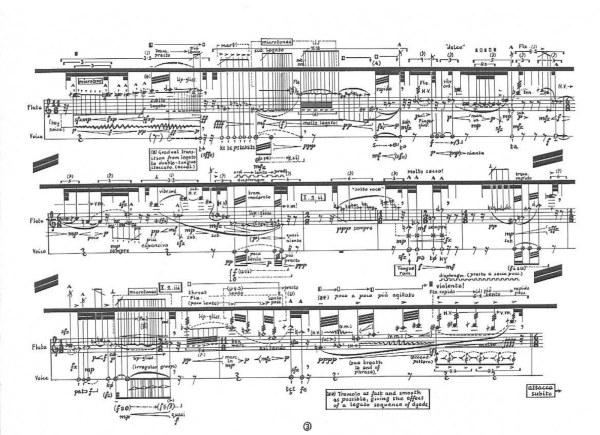 """Überkommene Strategien der Neuen Musik, Teil 2: """"Komplexes Partiturbild"""""""