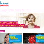 Website der FDP-Fraktion im Römer. Screenshot