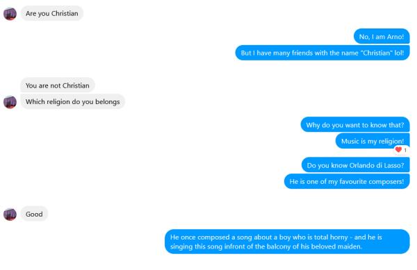 Wie ich mal (vergeblich) versuchte, einen Spammer für Orlando di Lasso zu begeistern