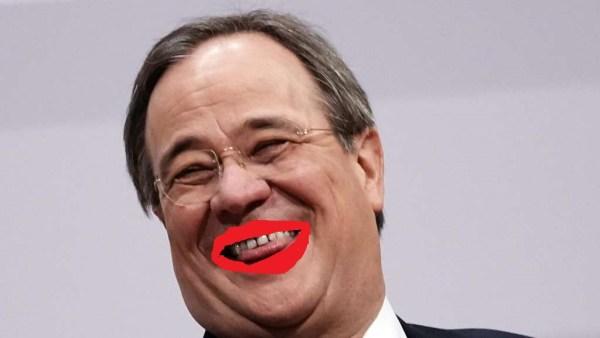 Der lachende Vagabund(eskanzlerkandidat)