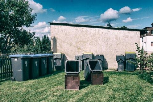 Die Mülltonnen von Mihla