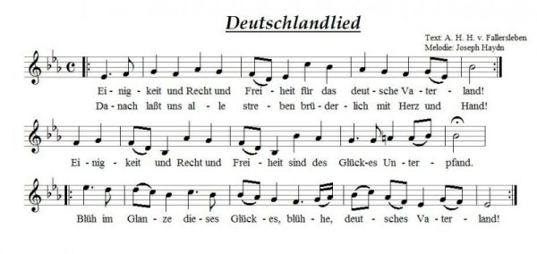 nationalhymne der brd