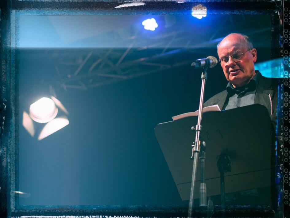 Peter Hagmann in Darmstadt. Foto: Hufner