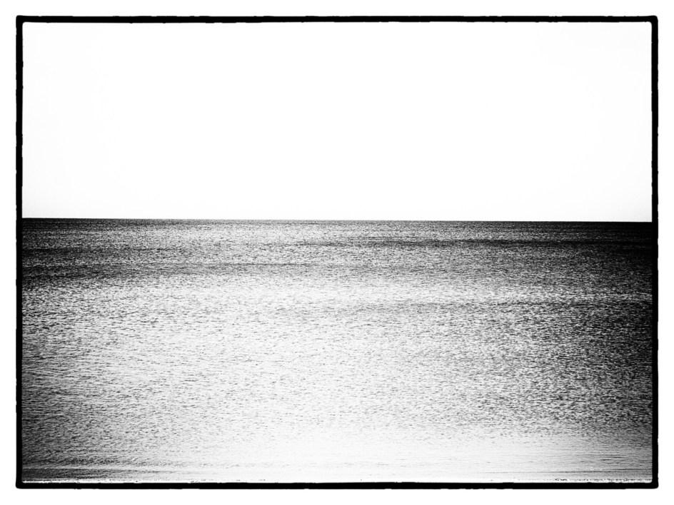 Das Meer ist weit, das Meer ist leer. Foto: Hufner