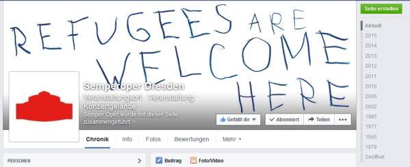 Semperoper in Dresden (Facebook-Seite)