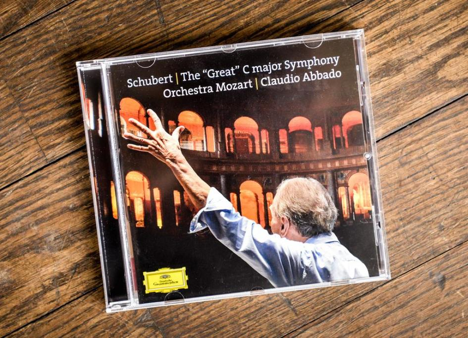 Cover Abbado Schubert