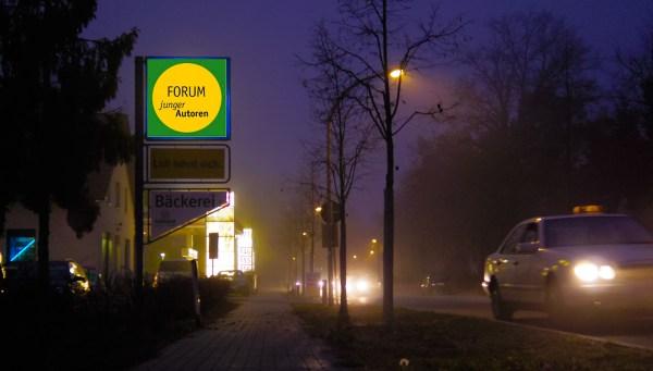 Forum junger Autoren. Foto: Hufner